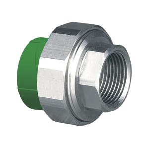 """联塑 内螺纹管接头(精品家装管PP-R配件)绿色 dn32×3/4""""(LS)"""