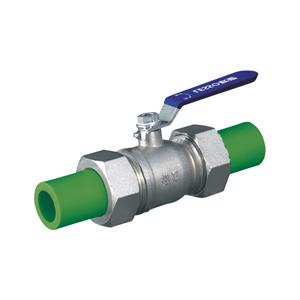 联塑 活接球阀(精品家装管PP-R配件)绿色 dn32(LS)