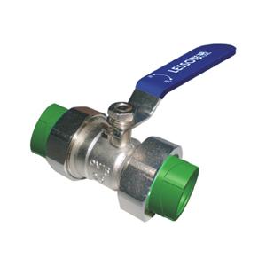 联塑 双活接球阀(承口连接)Ⅱ型(精品家装管PP-R配件)绿色 dn25(LS)
