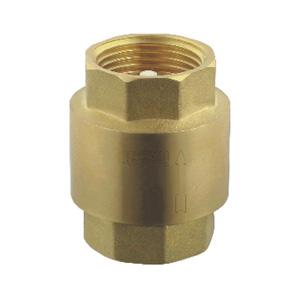 联塑 黄铜立式胶芯止回阀 403-15