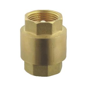 联塑 黄铜立式胶芯止回阀 403-20