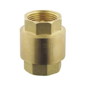 联塑 黄铜立式铜芯止回阀 403-015黄铜阀门