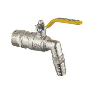联塑 镀镍铜锻压球芯水嘴 502-015黄铜阀门