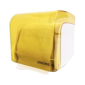 聯塑 廁所紙巾盒衛生紙盒衛生間 抽紙巾架防水掛式草紙盒擦手紙盒