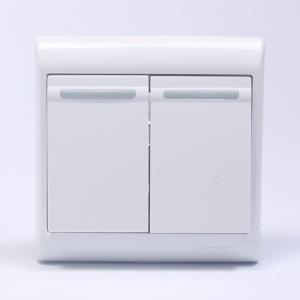 松本 二位双控大板开关C9C2/2 10个/盒