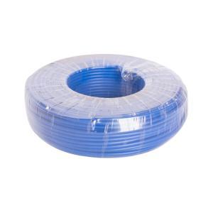 恒飞 铜芯单塑单股线 BV 10平方 蓝色 100M