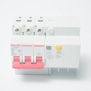德力西 小型漏电保护断路器 DZ47sLE 3P C 32A