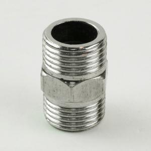 1.2寸DN32 加厚不锈钢双外牙对丝接头 1寸2不锈钢外牙直通/直接