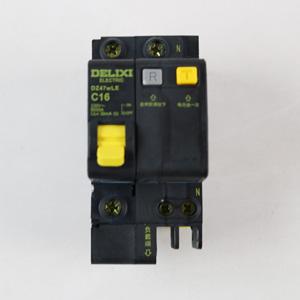 德力西 DZ47wLE 1P+N16A 漏电 黑科技