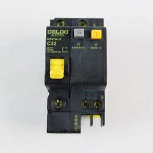 德力西 DZ47wLE 1P+N32A 漏电 黑科技