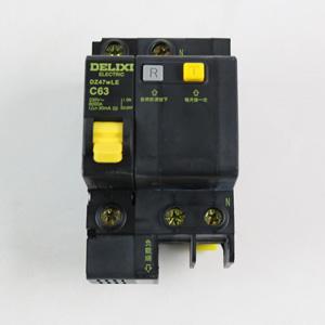 德力西 DZ47wLE 1P+N63A 漏电 黑科技