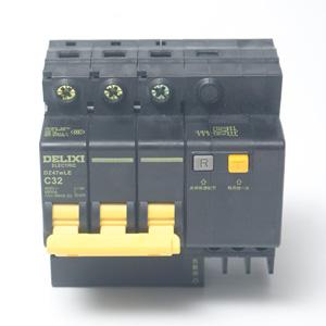 德力西 DZ47wLE 3P32A 漏电 黑科技