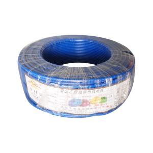 阳工电线 BLV铝线 6平方 蓝色 50米