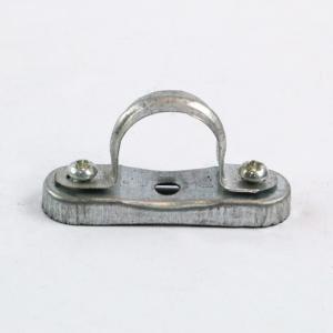 铝合金离墙码离墙卡元宝卡抛光铝制管卡镀锌管卡管箍管码离墙卡