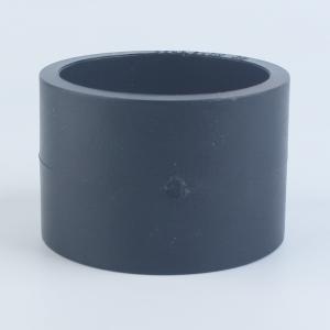 优质 PE给水承插直通 dn75 黑色
