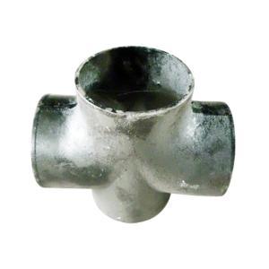 普通 W型铸铁排水四通 200