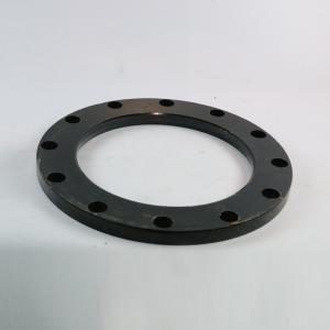 精品 加厚喷塑PE对接法兰盘 dn200(12孔)