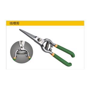 PVC線槽剪刀線槽切斷器電工專用線槽剪45度超省力電工用鉗WT鉗子