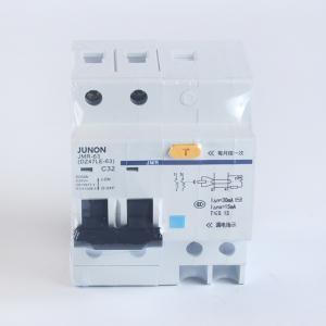 JUNON俊朗漏電保護器開關DZ47-63 雙極漏電斷路器/ 2P32A/40/63A