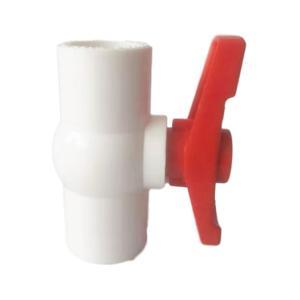 优质 PVC给水胶球阀 dn25