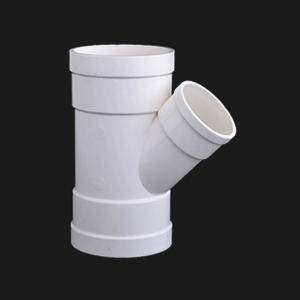 优质 排水异径斜三通 φ110*50*45°