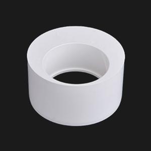 联塑白色PVC排水管配件偏心异径补芯大小头50 75 110 160 200 250