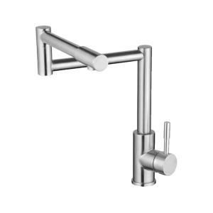 银超卫浴 折叠管冷热厨房龙头 SUS304材质 8142