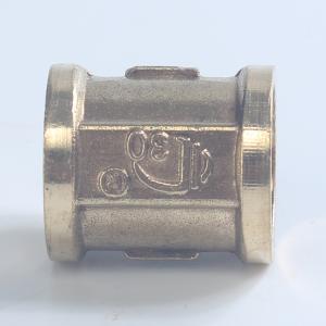 黃銅內外絲15寸水管接頭直通等徑直接配件