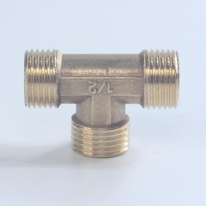 优质 铜外牙三通(中标) 15mm 4分