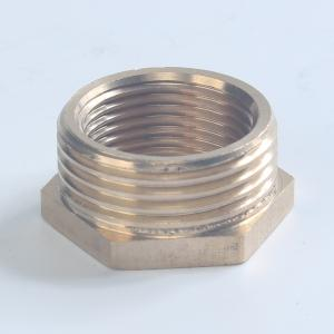 铜补芯内外丝直接水管接头异径变换内外丝补芯加厚铜接头