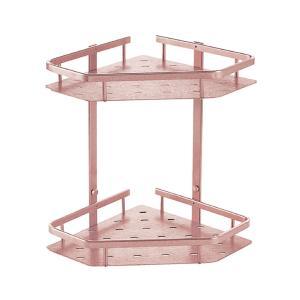 浴室置物架玻璃置物架單雙層三角架 太空鋁廁所衛生間置物架壁掛