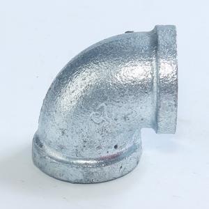 玛钢镀锌弯头90度4分内丝弯头镀锌管件铸铁丝扣弯头铸铁6分 DN15