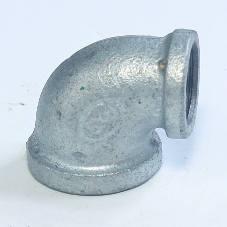 优质 镀锌铁异径弯头 25*15