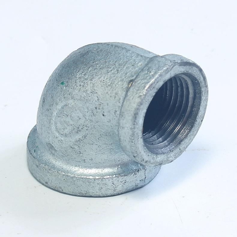 优质 镀锌铁异径弯头 65*20