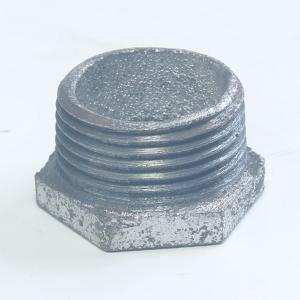 镀锌铁补芯变径内外丝接头铸铁管件异径补芯