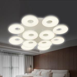 众艺照明 低压艺术灯 3355-12头圆吸顶 尺寸:1000*130