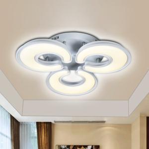 众艺照明 低压艺术灯 月芽006-3头吸顶 尺寸:793*2