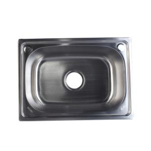 宁博 不锈钢水槽(单槽) 1.3mm 6244