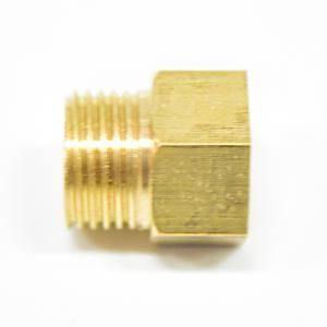 全銅四分內外絲直接對接角閥加長延伸短接頭4分外絲直通加厚對絲