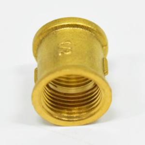 黃銅加厚接頭/內絲直通/六角直通/雙邊內
