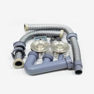 有财 不锈钢双盆下水器(S型)
