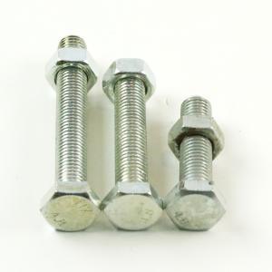 优质六角螺杆14*60(配螺母)