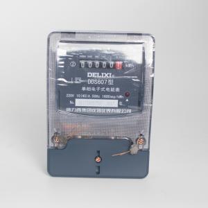 德力西 单相电子表 TDS607 10(40)A