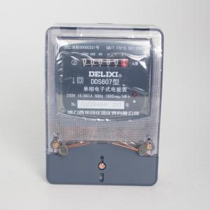 德力西 单相电子表 TDS607 15(60)A
