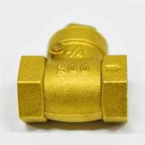 PPR水管管件配件單向閥DN15 20 25雙活接止回閥立式臥式銅止回閥