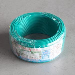 汾江 阻燃单塑多股线 ZR-BVR1.5mm (绿色)