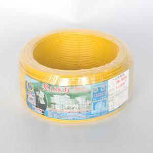 汾江 阻燃单塑多股线 ZR-BVR6mm (黄色)