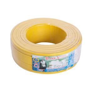 汾江 阻燃铜芯双塑多股线 ZR-BVVR1.5mm 黄色