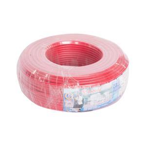 汾江 阻燃铜芯双塑多股线 ZR-BVVR4mm 红色