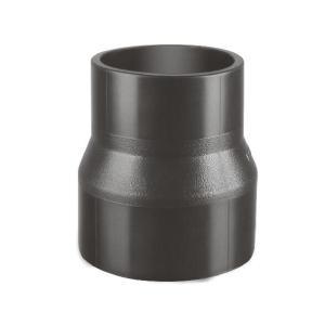 联塑 同心异径接头HDPE同层排水管件黑色 dn110×75